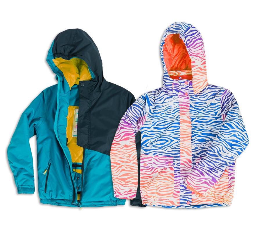 ak ubrać małego narciarza_kurtka
