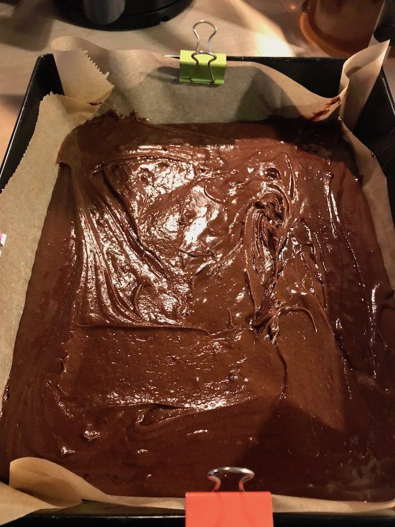Brownie kajmakowe