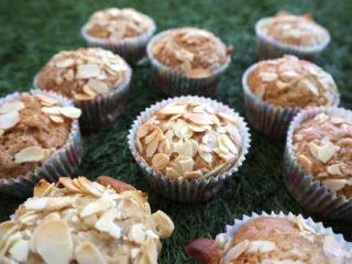 Muffinki z jabłkami (bez jajek) - head